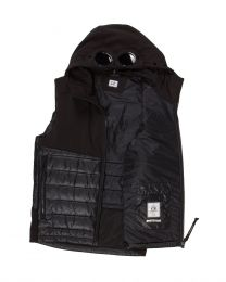C.P. Company Shell Mixed Padded Goggle Vest