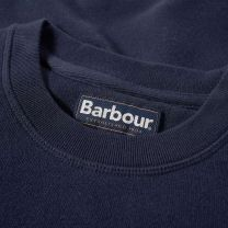 Barbour Prep Logo Crew Mens Sweatshirt Navy