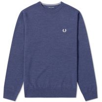 Fred Perry Authentic Classic Crew Knit Phantom Marl