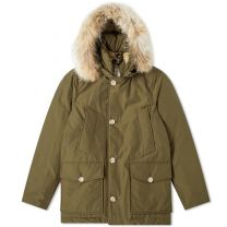 Woolrich Artic Anorak Dark Army Green