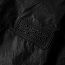 Barbour International Lightweight Duke Wax Jacket Black