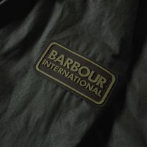 Barbour International Lightweight Duke Wax Jacket Sage