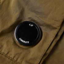 C.P. Company Lens Pocket Sateen Cargo Pant Cornstalk