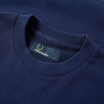 Fred Perry Crew Sweat Carbon Blue
