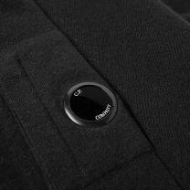 C.P. Company Arm Lens Crew Knit Black