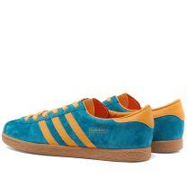 Adidas Stadt Teal, Orange & Gold