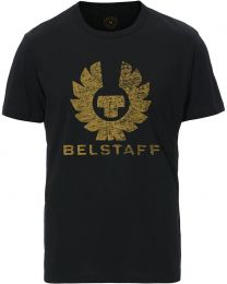 Belstaff Printed Logo Tee Black