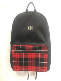 Fred Perry Subculture Rucksack Backpack Tartan