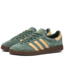 Adidas Munchen Green, Beige, Gold
