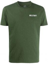 Belstaff Checkered Border T-Shirt
