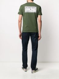 Belstaff Checkered Border T-Shirt