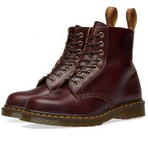 Dr. Martens 1460 Pascal Horween Made in England Burgundy Chrome Excel