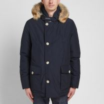 Woolrich Artic Anorak Melton Blue
