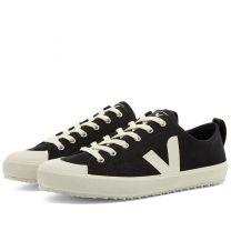 Veja Womens Nova Low Canvas Sneaker Black