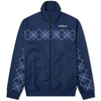 Adidas Argyle Track Top Night Indigo