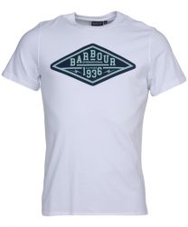 Barbour International Compressor T-Shirt White