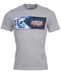 Barbour International Steve McQueen Pinstripe Tee