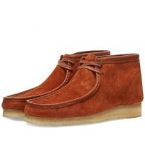 Clarks Originals Wallabee Boot Tan Hairy Suede