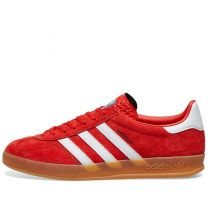 Adidas Gazelle Indoor Red, White & Gum EE5731