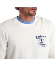 Barbour Reed Crew Sweater Ecru