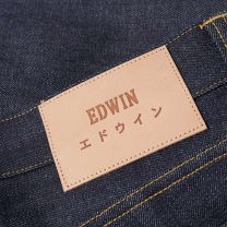 Edwin ED-71 Slim Straight Red Listed Selvage Denim Unwashed L32