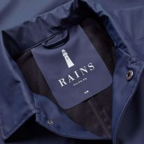 Rains Coach Jacket Blue