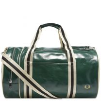 Fred Perry Authentic Classic Barrel Bag Ivy & Ecru