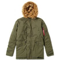 Alpha Industries Explorer Jacket Dark Green