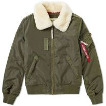 Alpha Industries Flight Jacket Injector III Dark Green