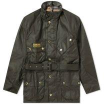 Barbour International Original Wax Jacket Sage