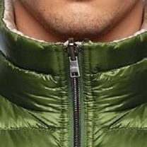 Herno Nylon Ultralight Reversible Bicolor Waiscoat Green