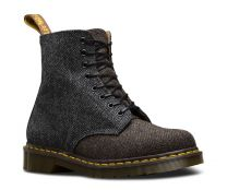 Dr. Martens 1460 Pascal Moonfabric Made in England Brown/Grey Herringbone