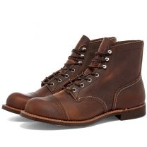 "Red Wing 8085 Heritage 6"" Iron Ranger BootCopper Rough & Tough"