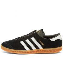 Adidas Hamburg Black, White, Gum