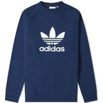 Adidas Trefoil Crew Sweat Collegiate Navy ED5948