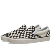 Vans UA Classic Slip On 98 DX Checkerboard Black & White