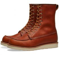 """Red Wing 877 Heritage Work 8"""" Moc Toe Boot Oro Legacy"""