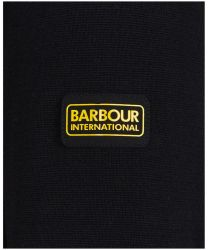 Barbour International Cotton Crew Neck Sweater Black