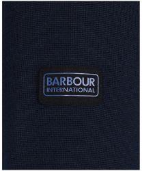 Barbour International Cotton Crew Neck Sweater Navy
