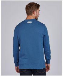Barbour International Famous Duke Sweater Blue