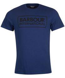 Barbour International Essential Large Logo Regal Blue