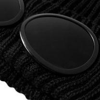 C.P. Company Merino Wool Goggle Beanie Black
