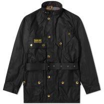 Barbour International Original Wax Jacket Black
