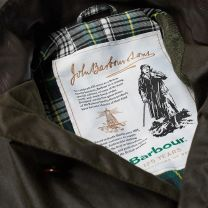 Barbour 125th Anniversary Icons Beacon Sports Wax Jacket Olive