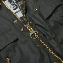 Barbour 125th Anniversary Icons Bedale Wax Sage