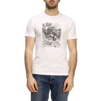Belstaff Photo Graphic Tee White