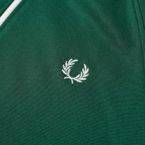 Fred Perry Authentic Taped Track Jacket Tawny Ivy