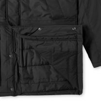 Fred Perry Authentic Padded Zip Parka Black