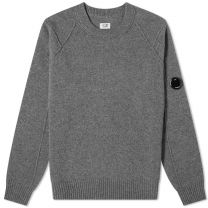 C.P. Company Arm Lens Crew Knit Grey