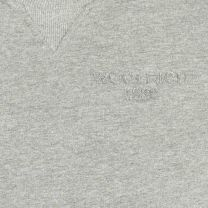 Woolrich Basic Logo Crew Neck Grey